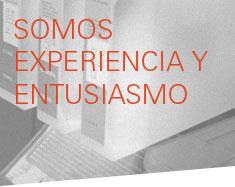 experiencia y entusiasmo