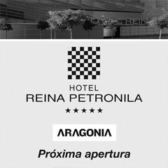 Cartelería exterior Reina Petronila