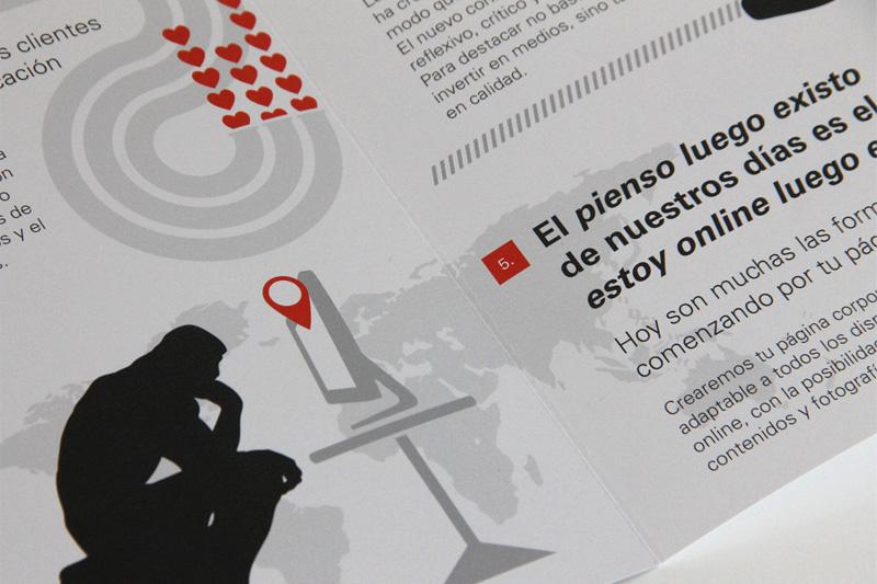 Diseño Gráfico Folleto Zaragoza
